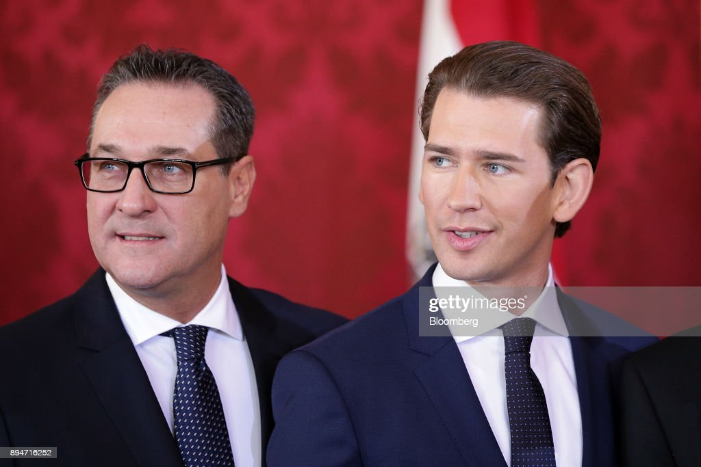 Sebastian Kurz Inaugurated As Austria's Chancellor After Agreeing Freedom Party Backed Coalition