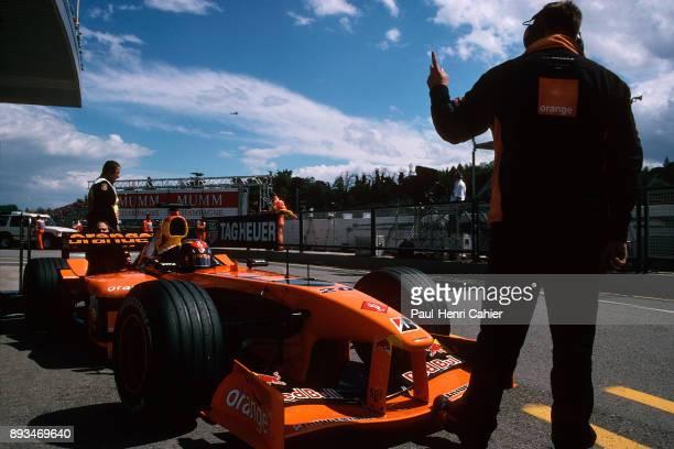 Heinz-Harald Frentzen, Arrows-Cosworth A23, Grand Prix of San Marino, Autodromo Enzo e Dino Ferrari, Imola, 14 April 2002.