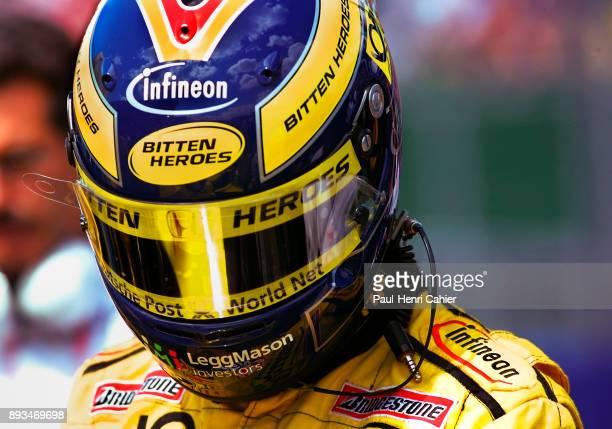 Heinz-Harald Frentzen, Jordan-Honda EJ11, Grand Prix of Great Britain, Silverstone Circuit, 15 July 2001.