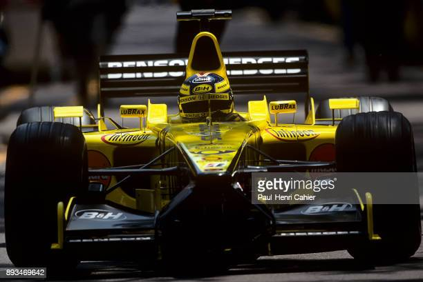 Heinz-Harald Frentzen, Jordan-Honda EJ11, Grand Prix of Monaco, Circuit de Monaco, 27 May 2001.