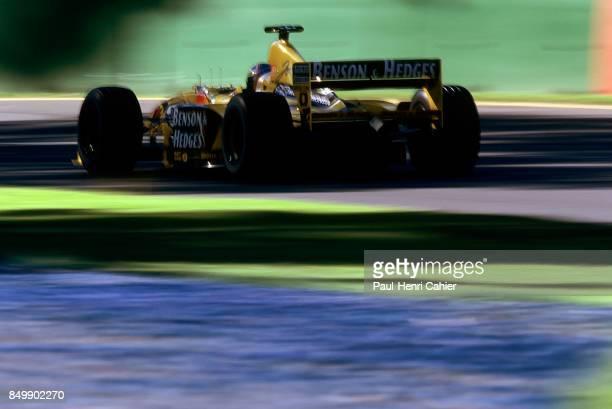Heinz-Harald Frentzen, Jordan-Mugen-Honda 199, Grand Prix of Australia, Melbourne Grand Prix Circuit, Melbourne, Australia, March 7, 1999.