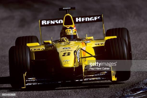 Heinz-Harald Frentzen, Jordan-Mugen-Honda 199, Grand Prix of Germany, Hockenheimring, 01 August 1999.
