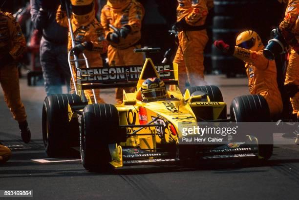HeinzHarald Frentzen JordanMugenHonda EJ10 Grand Prix of Brazil Autodromo Jose Carlos Pace Interlagos Sao Paolo 26 March 2000