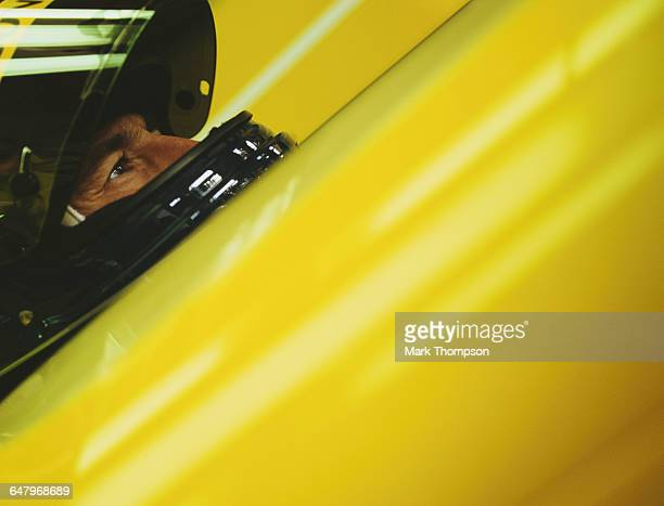 Heinz-Harald Frentzen of Germany and driver of the Benson & Hedges Jordan Jordan 199 Mugen Honda MF-301 V10 during practice for the Belgian Grand...