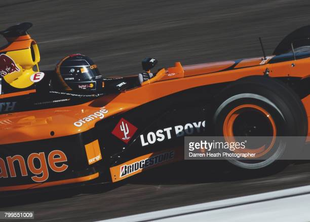Heinz-Harald Frentzen of Germany drives the Orange Arrows F1 Team Arrows A23 Cosworth V10 during the Formula One San Marino Grand Prix on 14 April...