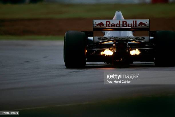 Heinz-Harald Frentzen, Sauber-Ford C14, Grand Prix of Argentina, Autodromo Oscar Alfredo Galvez, Buenos Aires, 09 April 1995.
