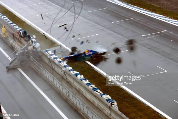Heinz-Harald Frentzen, Sauber-Ford C15, Grand Prix of Spain, Circuit de Barcelona-Catalunya, Barcelona, Spain, June 2, 1996.