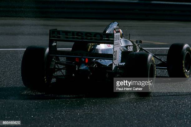 Heinz-Harald Frentzen, Sauber-Mercedes C13, Grand Prix of Belgium, Circuit de Spa-Francorchamps, 28 August 1994.