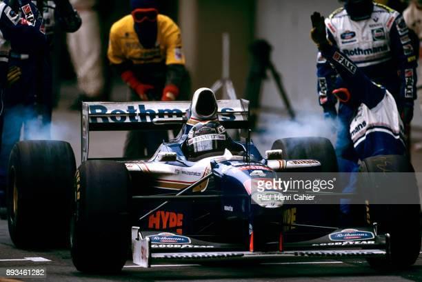 Heinz-Harald Frentzen, Williams-Renault FW19, Grand Prix of Brazil, Autodromo Jose Carlos Pace, Interlagos, Sao Paolo, 30 March 1997. Heinz-Harald...