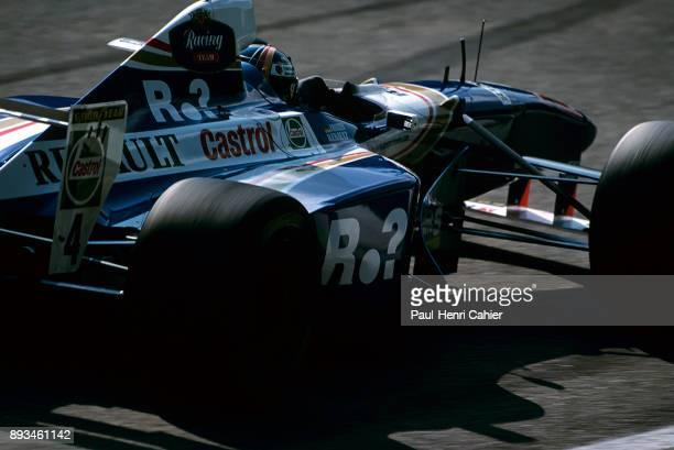 Heinz-Harald Frentzen, Williams-Renault FW19, Grand Prix of Germany, Hockenheimring, 27 July 1997.