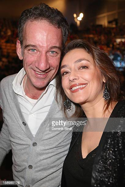 Heio von Stetten and Elisabeth Romano attend the show 10 years of Appassionata Friends Forever on January 4 2013 in Munich Germany