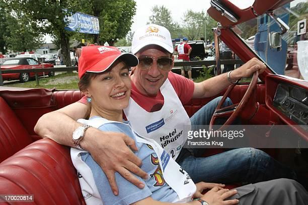 Heio Von Stetten And Elisabeth Romano On The big border traffic in Prien Am Chiemsee 230606