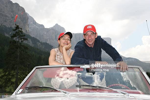 Heio Von Stetten And Elisabeth Romano On The big border traffic between Leogang Saalfelden And Alta Badia 240606