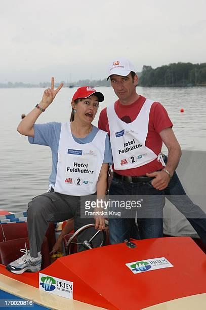 Heio Von Stetten And Elisabeth Romano The Boot In Great border traffic in Prien Am Chiemsee On 230606