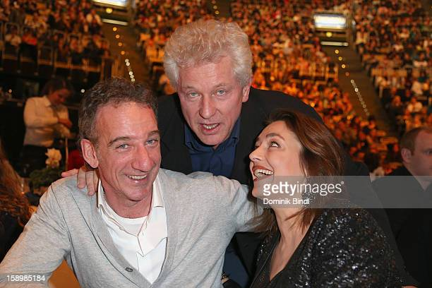 Heio von Stetten Miroslav Nemec and Elisabeth Romano attend the show 10 years of Appassionata Friends Forever on January 4 2013 in Munich Germany