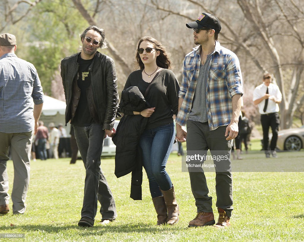 Heir to the Dole fruit empire Justin Murdock with actors Nick Zano and Kat Dennings attend David H. Murdock hosts Ventura Farms Inaugural VF Concours Invitational at Ventura Farms on March 17, 2013 in Ventura, California.