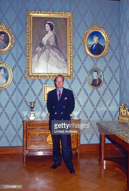 Heir to the throne Karl Friedrich Prince of Hohenzollern at the Castle Sigmaringen Castle Hohenzollern Germany 1986