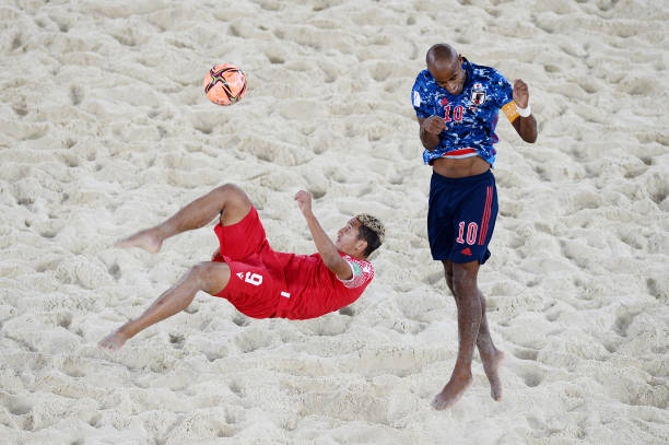 RUS: Tahiti v Japan - FIFA Beach Soccer World Cup 2021: Quarter-final