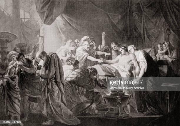 The death of Germanicus Caesar Germanicus Julius Caesar 15 BC AD 19 Heirdesignate of the Roman Empire under Tiberius From Hutchinson's History of the...