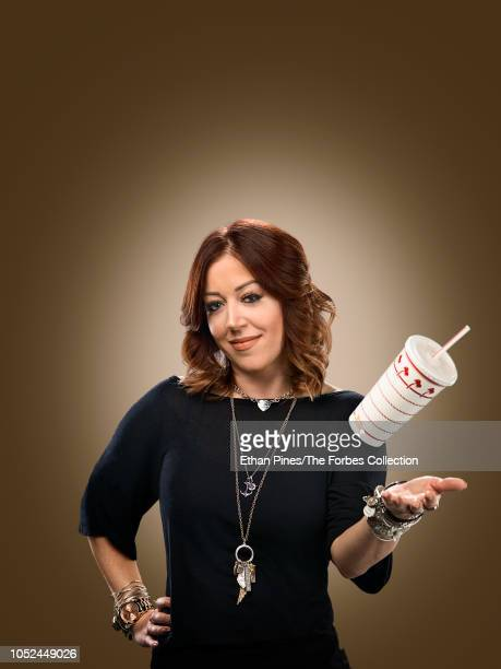 Heiress and owner of InNOut burger Lynsi Snyder is photographed for Forbes Magazine on July 30 2018 in Baldwin Park California COVER IMAGE CREDIT...