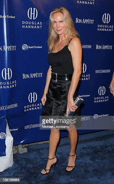 Heiress Patricia GuerrandHermes arrives to Douglas Hannant's Tenth Anniversary Celebration at The Bon Appetit Supper Club in New York City on October...