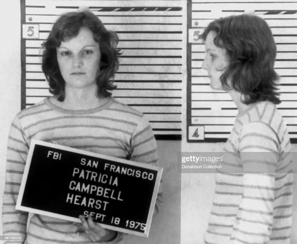 Kidnapped heiress Patty Hearst was finally arrested in San Francisco on September 18, 1975, over a year after she'd taken part in a bank robbery with her abductors, filmed holding a machine gun by a surveillance camera