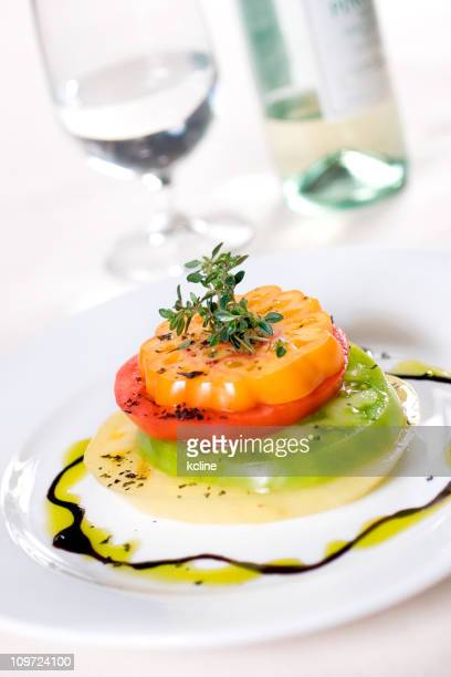 Ancienne pile salade