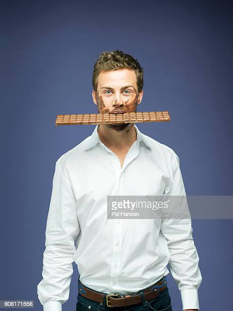 Heirs to chocolate manufacturer Leander Cadbury is photographed for Tatler magazine on February 14 2014 in London England