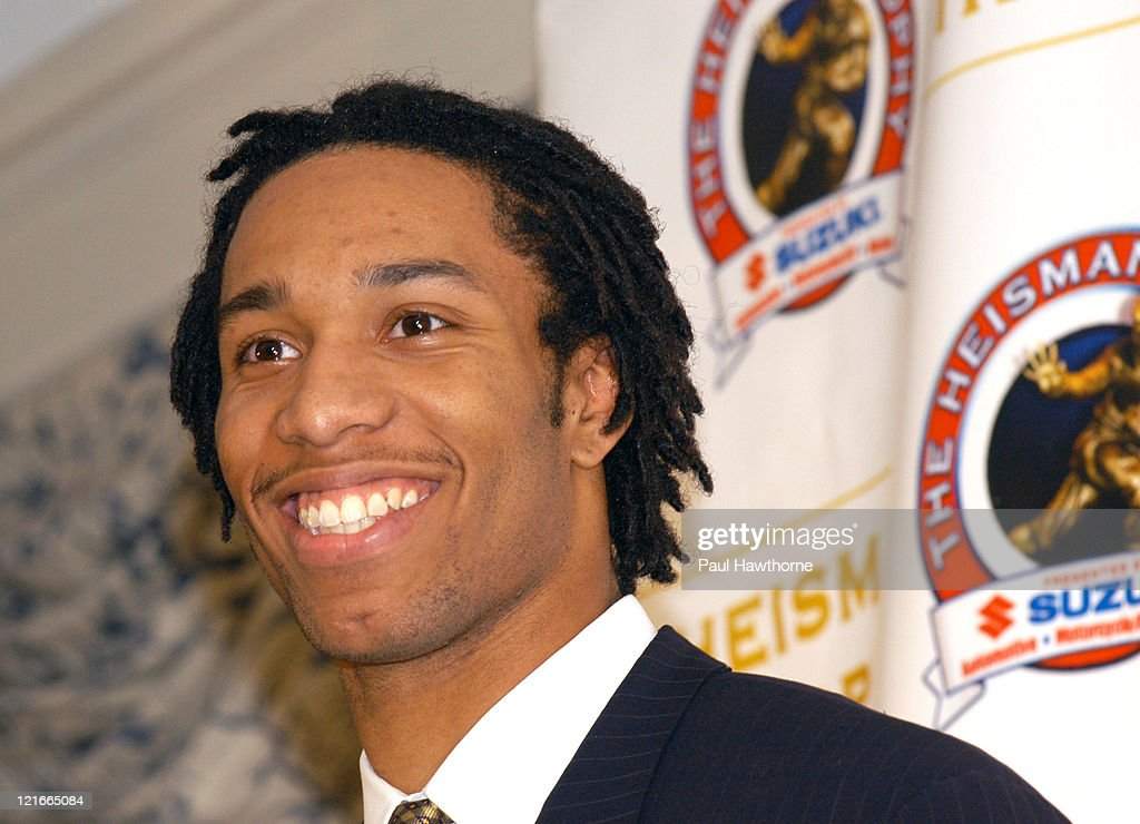 Heisman Trophy finalist Larry Fitzgerald, wide receiver from Pittsburgh