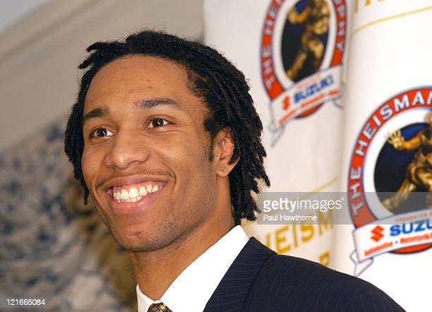 Heisman Trophy finalist Larry Fitzgerald wide receiver from Pittsburgh