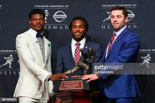 Heisman Trophy Finalist University of Louisville quarterback Lamar Jackson 2017 Heisman Trophy Finalist Stanford University running back Bryce Love...