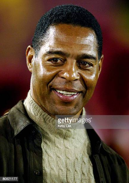 USC Heisman Trophywinning and NFL Hall of Fame tailback Marcus Allen watches from the sidelines during the Trojans' 3510 victory over Oregon in...