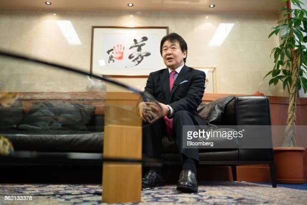 Heizo Takenaka professor at Toyo University and professor emeritus at Keio University speaks during an interview in Tokyo Japan on Monday Oct 16 2017...