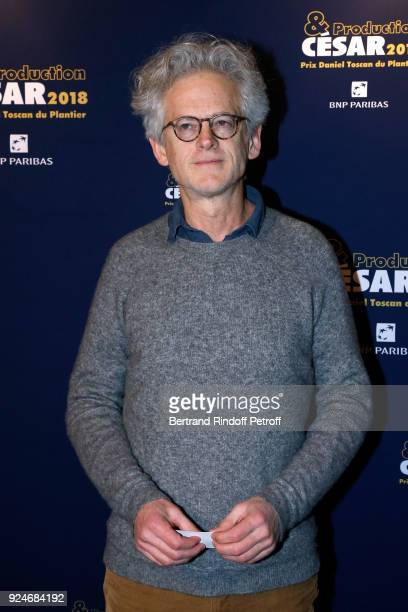 Director Santiago Amigorena attends the 'Diner Des Producteurs' Producer's Dinner Cesar 2018 Held at Four Seasons Hotel George V on February 26 2018...
