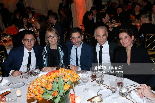 General Director of Canal Plus Group Maxime Saada French Minister of Culture Francoise Nyssen Manu Payet President of the Academy of Arts and...