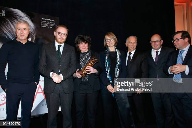 Director of the movie '120 Battement par minute' Robin Campillo CoProducer of the movie '120 Battement par minute' Hughues Charbonneau Winner of the...