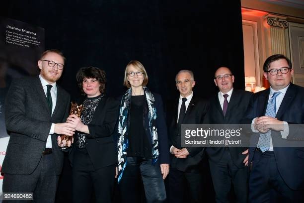 CoProducer of the movie '120 Battement par minute' Hughues Charbonneau Winner of the 'Daniel Toscan du Plantier' Producer's Price MarieAnge Luciani...