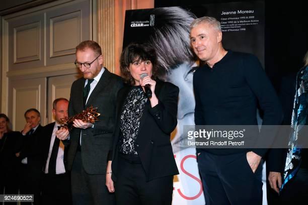CoProducer of the movie 120 Battement par minute Hughues Charbonneau Winner of the Daniel Toscan du Plantier Producer's Price MarieAnge Luciani for...