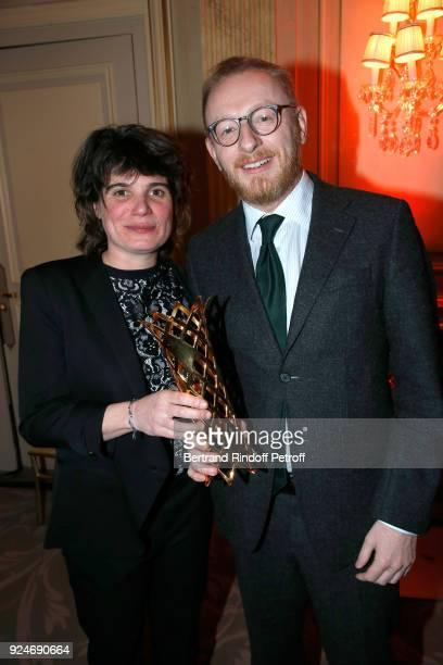 Winner of the Daniel Toscan du Plantier Producer's Price MarieAnge Luciani for 120 Battement par minute and CoProducer of the movie 120 Battement par...