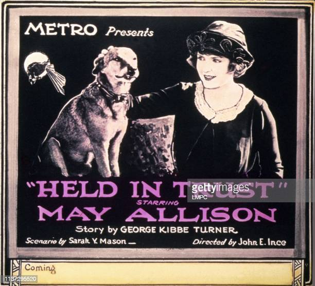 Held In Trust poster May Allison 1920