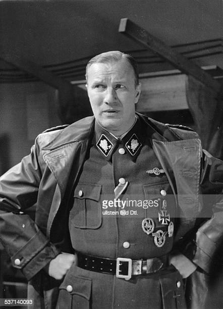 Held Martin Actor Germany Scene from the movie 'Canaris' engl title 'Canaris Master Spy' as Reinhard Heydrich high Nazi official SSObergruppenfuehrer...