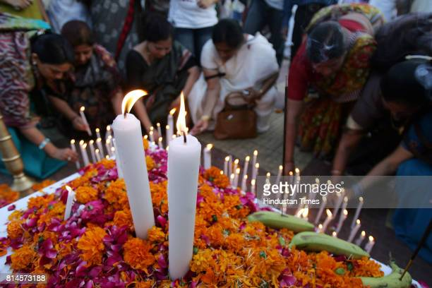 BJP held rally to pay respects to the martyrs in 26/11 terror attack in Mumbai rally was held at Hutatma chowk on Friday