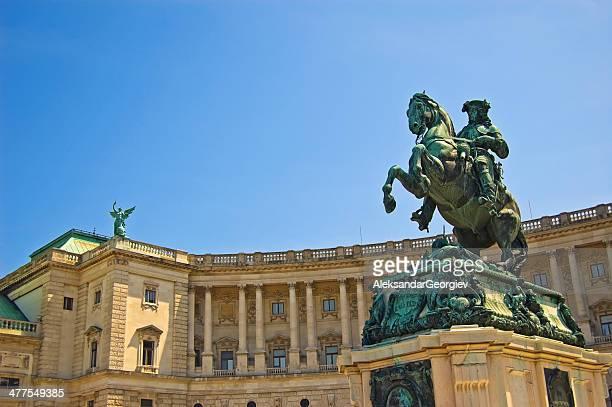Heldenplatz and Hofburg Vienna, Austria