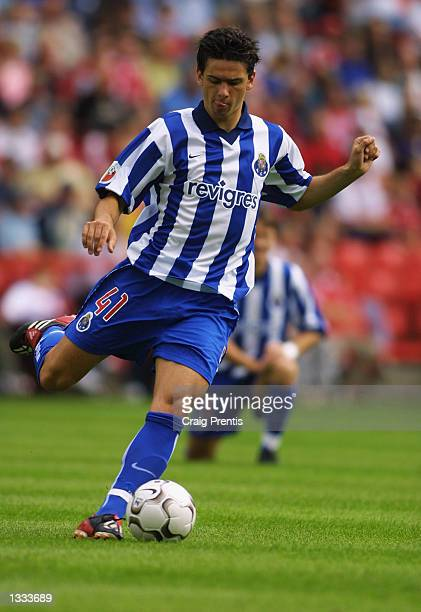 Helder Postiga of FC Porto in action during the John Robinson Testimonial match between Charlton Athletic and FC Porto at The Valley in Charlton on...