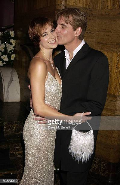 """Helen Anker and Michael Praed attend the afterparty following the press night for """"Beautiful And Damned,"""" a new musical based on the lives of..."""