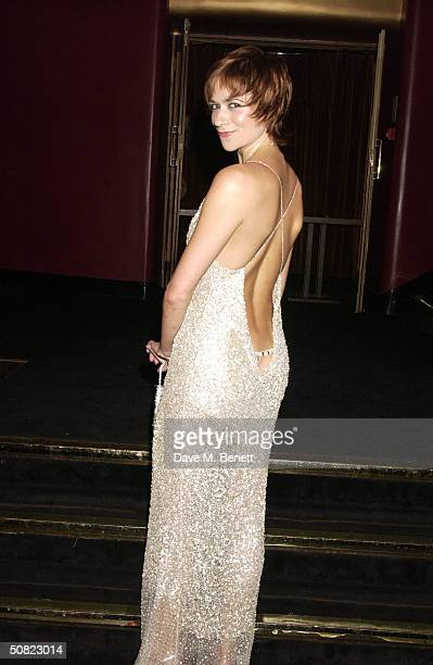 """Helen Anker attends the afterparty following the press night for """"Beautiful And Damned,"""" a new musical based on the lives of American novelist F..."""