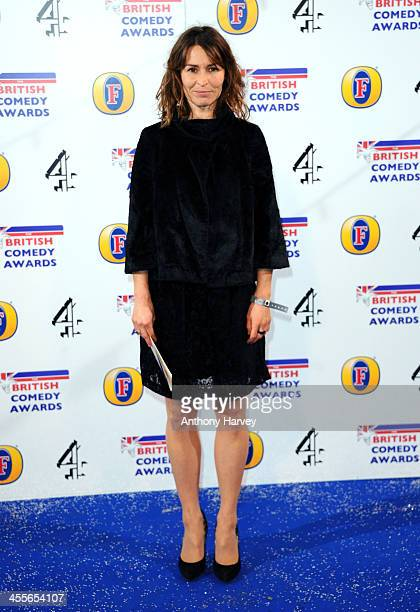 Helen Baxendale attends the British Comedy Awards at Fountain Studios on December 12 2013 in London England