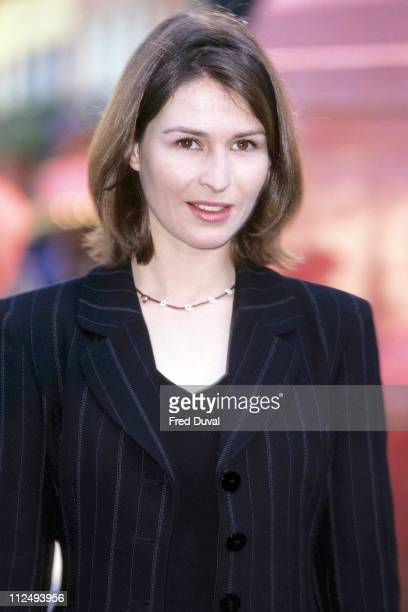 Helen Baxendale during A Last Embrace Photocall February 1 1998 at London in London United Kingdom