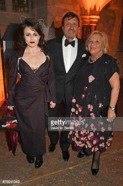 Helen Bonham Carter Sir Rocco Forte and Dame Vivien Duffield attend Save The Children's Magical Winter Gala celebrating the 20th anniversary since...