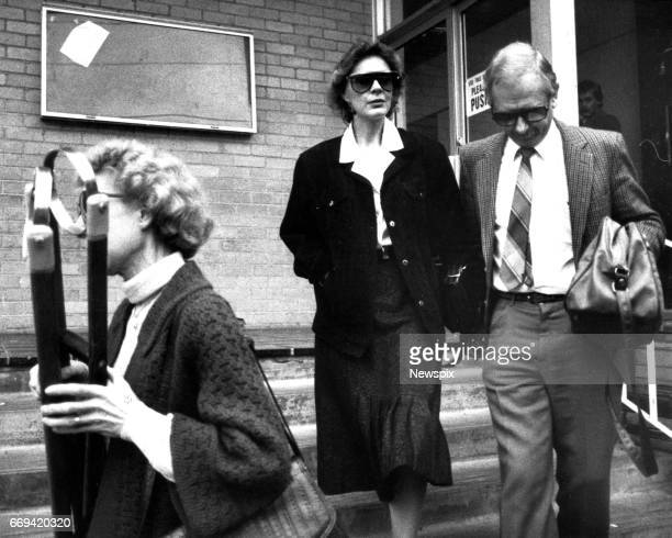 MELBOURNE VIC Helen Buchanan one of the seven women members of 'The Family' a religious sect headed by Mrs Anne HamiltonByrne who were convicted and...